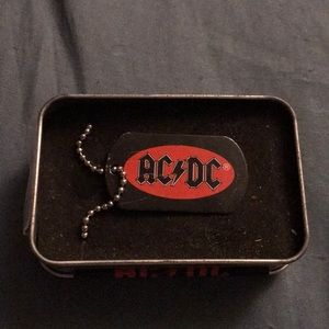 Other - Brand new, AC/DC dog tag necklace